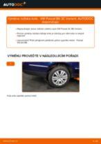 Doporučení od automechaniků k výměně VW Passat 3B6 1.8 T 20V Hlava příčného táhla řízení