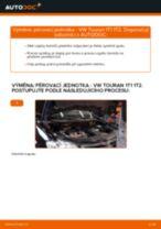 Jak vyměnit přední pérovací jednotka na VW Touran 1T1 1T2 – návod k výměně