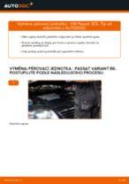 Online návod jak vyměnit Hlavni brzdovy valec na Passat 3B6