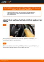Πώς αλλαγη και ρυθμιζω Υαλοκαθαριστήρας VW CADDY: οδηγός pdf