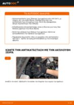 Πώς να αλλάξετε δισκόπλακες εμπρός σε VW Golf 3 - Οδηγίες αντικατάστασης