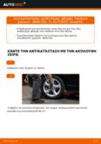 Δωρεάν οδηγίες για Ένδειξη φθοράς BMW 1 Coupe (E82) αλλάξετε