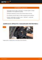 Kako zamenjati avtodel zavorni diski spredaj na avtu VW Golf 3 – vodnik menjave
