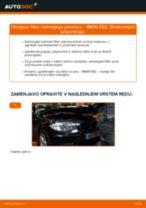 Kako zamenjati avtodel filter notranjega prostora na avtu BMW E82 – vodnik menjave