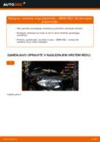 Menjava zadaj Blazilnik BMW 1 Coupe (E82): vodič pdf