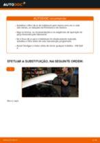 Como mudar filtro habitáculo em VW Golf 3 - guia de substituição