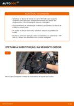 Instalação Discos de travagem VW GOLF III (1H1) - tutorial passo-a-passo