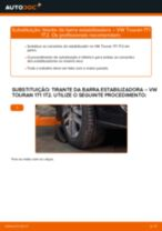 Recomendações do mecânico de automóveis sobre a substituição de VW Golf 3 2.0 Cabeçotes Do Amortecedores