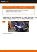 Como substituir Kit rolamento roda traseira e dianteira Mercedes Vito Mixto W639 - manual online