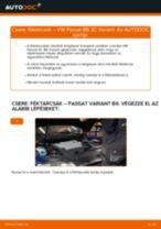 Hátsó féktárcsák-csere VW Passat 3C B6 Variant gépkocsin – Útmutató
