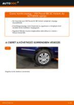 Hátsó kerékcsapágy-csere VW Passat 3C B6 Variant gépkocsin – Útmutató