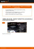 VW PASSAT Variant (3C5) Lengéscsillapító szett beszerelése - lépésről-lépésre útmutató