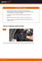 Kā nomainīt: priekšas bremžu diskus VW Golf 3 - nomaiņas ceļvedis