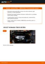 Kā nomainīt: salona gaisa filtru BMW E82 - nomaiņas ceļvedis