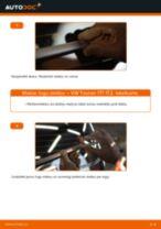 Kā nomainīt: aizmugures logu slotiņas VW Touran 1T1 1T2 - nomaiņas ceļvedis