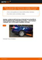 Kā nomainīt: aizmugurējās balstiekārtas apakšējā neatkarīgās balstiekārtas svira VW Passat 3C B6 Variant - nomaiņas ceļvedis