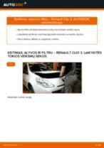 MANN-FILTER W 75/3 už Clio III Hatchback (BR0/1, CR0/1) | PDF keitimo vadovas