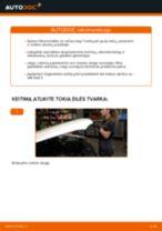 OPEL FRONTERA Aukštos įtampos laidų pakeisti: žinynai pdf