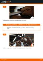 Kaip pakeisti VW Touran 1T1 1T2 valytuvų: galas - keitimo instrukcija