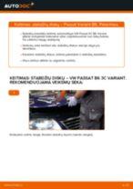 VW gale ir priekyje Stabdžių diskas keitimas pasidaryk pats - internetinės instrukcijos pdf