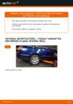 Amortizatoriaus Apsauga pakeitimas BMW 4 Serija - patarimai ir gudrybės
