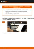 VW VENTO remonto ir priežiūros instrukcija