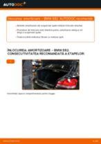 Instalare Set amortizoare spate si față BMW cu propriile mâini - online instrucțiuni pdf