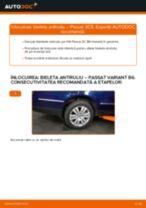 Cum să schimbați: bieleta antiruliu din spate la VW Passat 3C B6 Variant   Ghid de înlocuire