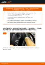 Anleitung: VW Caddy 3 Kombi Scheibenwischer vorne wechseln