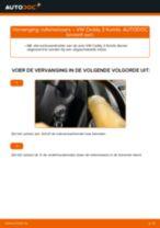 Hoe Ruitenwisserbladen vervangen en installeren VW CADDY: pdf tutorial