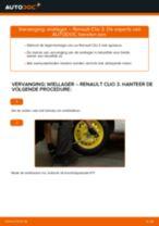 RENAULT Wiellagerset achter en vóór veranderen doe het zelf - online handleiding pdf