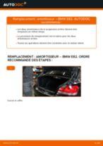 Comment changer : amortisseur arrière sur BMW E82 - Guide de remplacement