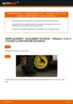 Comment changer : roulement de roue arrière sur Renault Clio 3 - Guide de remplacement