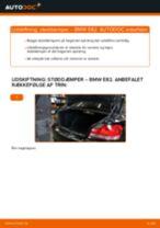 Udskift støddæmper bag - BMW E82   Brugeranvisning