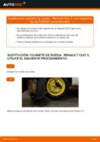 Cómo cambiar: cojinete de rueda de la parte trasera - Renault Clio 3   Guía de sustitución