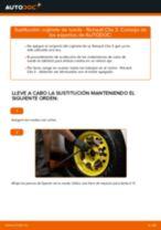 Cómo cambiar: cojinete de rueda de la parte delantera - Renault Clio 3   Guía de sustitución