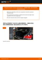 How to change rear shock absorbers on BMW E82 – replacement guide