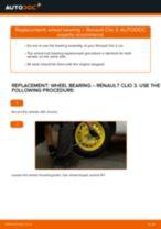 Сhanging Repair Kit, support / steering link on RENAULT CLIO: online tutorial