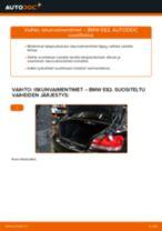 Laakerointi Pyöränlaakeripesä vaihto: BMW 1 SERIES pdf oppaat