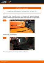 Samm-sammuline PDF-juhend Volvo S80 1 Amordi Tugilaager asendamise kohta