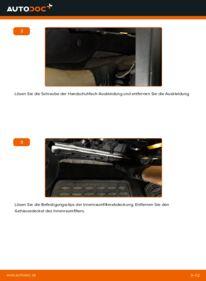 Wie der Wechsel durchführt wird: Innenraumfilter 2.0 TDI Passat B6 Variant tauschen