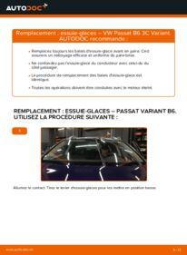 Comment effectuer un remplacement de Essuie-Glaces sur 2.0 TDI Passat B6