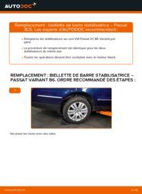 Comment effectuer un remplacement de Biellette De Barre Stabilisatrice sur 2.0 TDI Passat B6