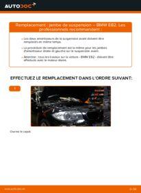 Comment effectuer un remplacement de Amortisseurs sur 120d 2.0 BMW E82