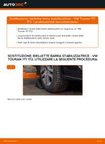Come effettuare una sostituzione di Biellette Barra Stabilizzatrice su VW ? Dai un'occhiata alla nostra guida dettagliata e scopri come farlo