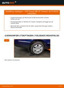 Slik bytter du Hjullager på VW PASSAT
