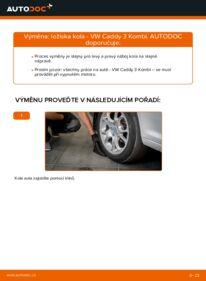 Jak provést výměnu: Lozisko kola na 1.9 TDI VW Caddy 3