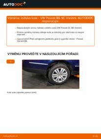 Jak provést výměnu: Lozisko kola na 2.0 TDI Passat B6