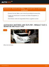 Wie der Wechsel durchführt wird: Ölfilter 1.5 dCi Renault Clio 3 tauschen