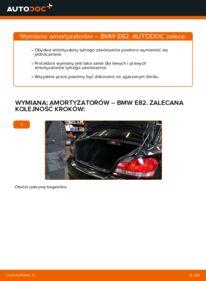Jak przeprowadzić wymianę: Amortyzator w BMW 1 SERIES